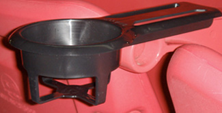 original cup holder design for stadium seating
